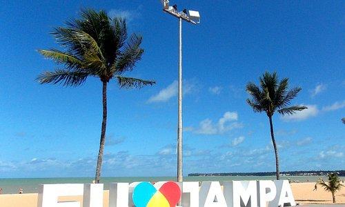 Busto de tamandaré é a divisa entre as praias de Tambaú e Cabo Branco, lugar muito bonito.