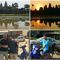 The best sunrise at Angkor Wat Temple, Siem Reap Province of Cambodia