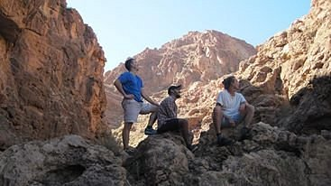 hiking trip to the Atlas mountains
