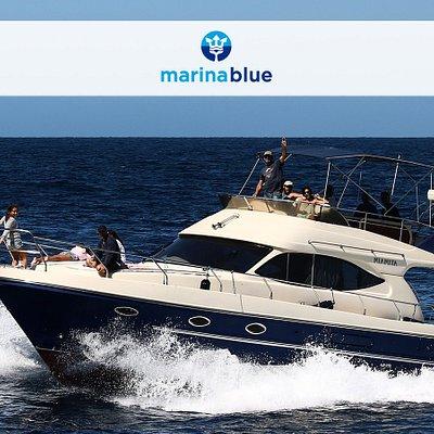 Yate para Avistamientos de delfines y ballenas de Marina Blue Tarifa