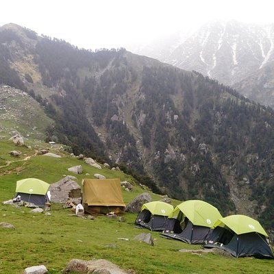 Camp Snowflakes at Triund Hilltop ... Book Now