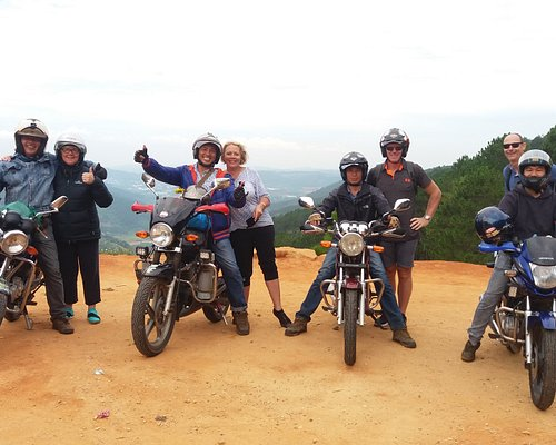 Happy team riders from our motorbike tour.