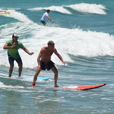 Learn to Surf in Barbados at Barry's Surf School