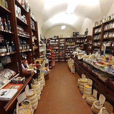 Vista generale interno negozio
