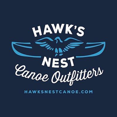 Hawk's Nest Canoe Outfitters' new logo
