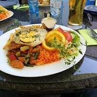 Very tasty dish. Only 10,90€.