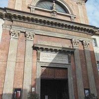 Facciata della Chiesa di San Sebastiano