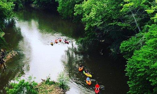 Deep River kayakers