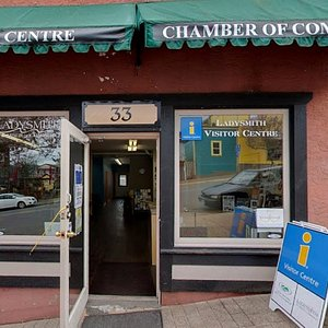 Ladysmith Visitor Centre and Chamber of Commerce.  Welcome!