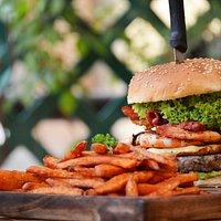 Baja Burger Monster