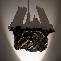 Репродукция картины И.И.Шишкина отбрасывает тень разводных мостов? Да как такое возможно? Чу-де-