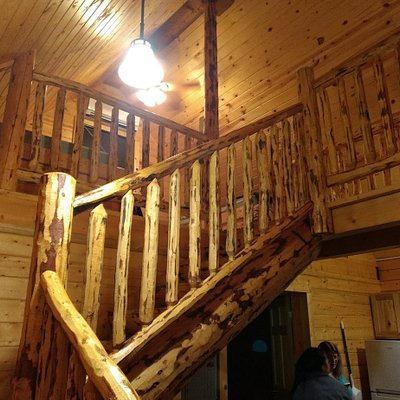 Stairs to cabin Loft