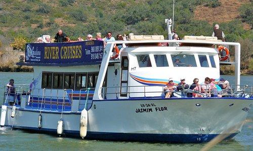 A mais moderna e melhor equipada embarcação em actividade no rio Guadiana.