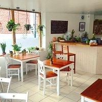 The Smashing Kitchen beautiful bright full of plants venue