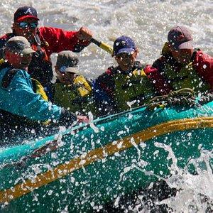 Alaska Whitewater Rafting at Denali National Park with Nenana Raft Adventures