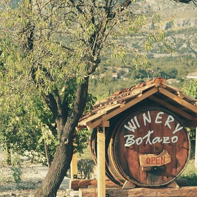 Entrance to our winery