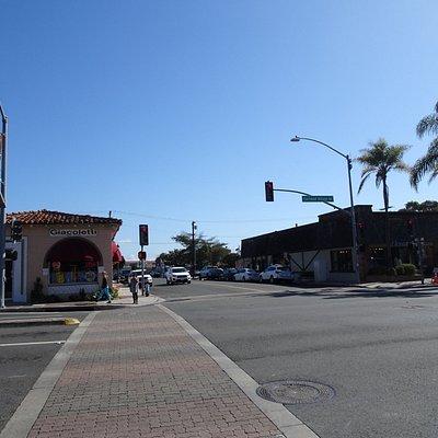 The Barrio neighborhood lies just ahead