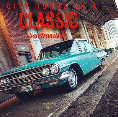 Classic car tours San Francisco