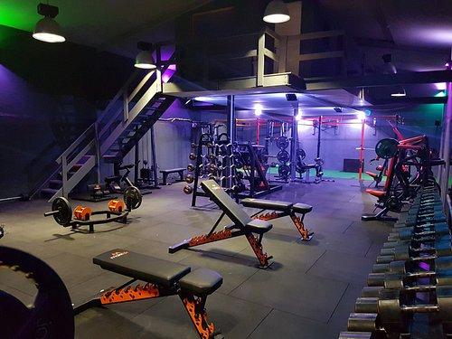 Inside Maxx Life gym