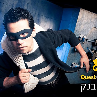 "Real life quest games ""Bank Robbery"""