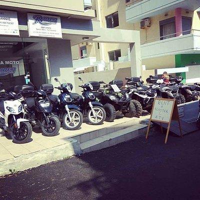 Rider Moto Rentals Rhodes