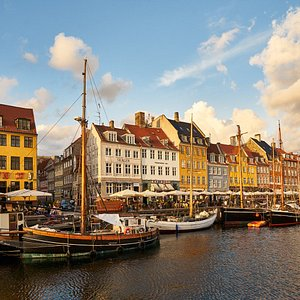 The colourful houses at Nyhavn