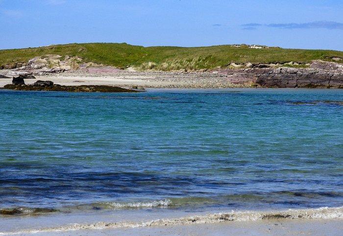 Glassilaun beach