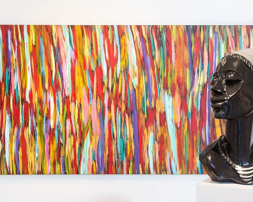 Ukama Gallery showcases contemporary sculptures and paintings