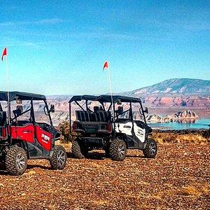 Incredible views of Lake Powell!