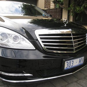 Our top of the range Mercedes S 500