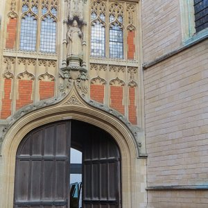 Archway to Queen's Schools, referenced for the Natural History Museum item 12