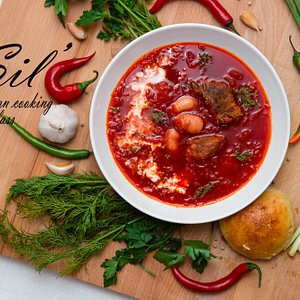 We will teach you to cook Ukrainian in English!