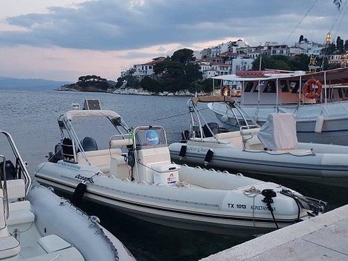 SeameN Boat Rentals at Bourtzi