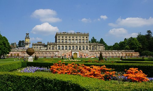 View from parterre