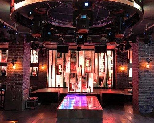 high club dance floor