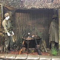 A display from the Vietnam War, WNC Military History Museum