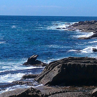 Rock walks at the south end of Whale Beach