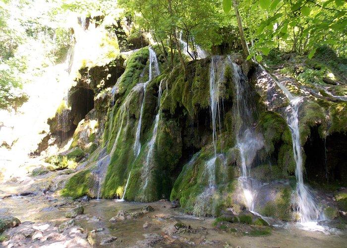 Some water on Beusnita Waterfall