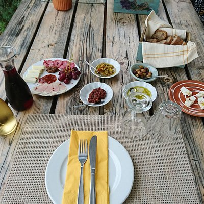 Enjoy Corfiot cuisine at a local's scenic mountaintop vineyard - Traveling Spoon