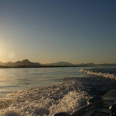 White Coast Charters Sunset cruise