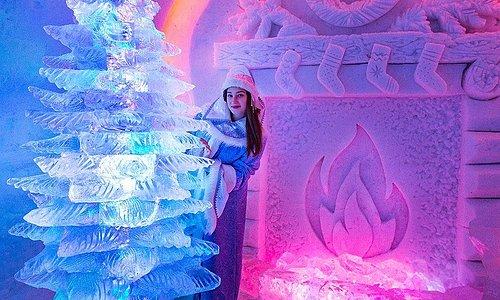"""Зимушка-зима! Именно ей в этом сезоне (2017/2018) была посвящена тематика """"Снежной Деревни""""!"""