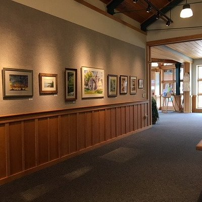 Widlund Gallery at Tannery Pond Community Center - featuring different artists each month