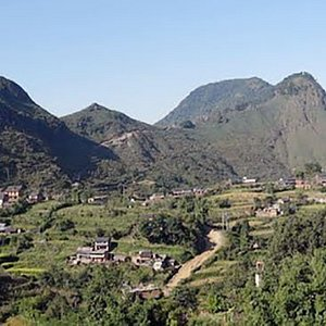 Image of Hill from another side of Bandipur Village.