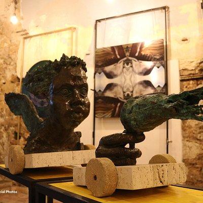 Personale di Scultura e arte digitale di Leonardo Cumbo