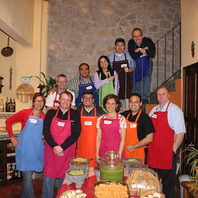 Great team building during cooking classes!