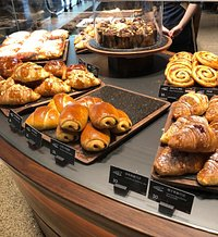 more bakery treats downstairs-pricey!