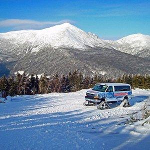 SnowCoach Tour, Book online!