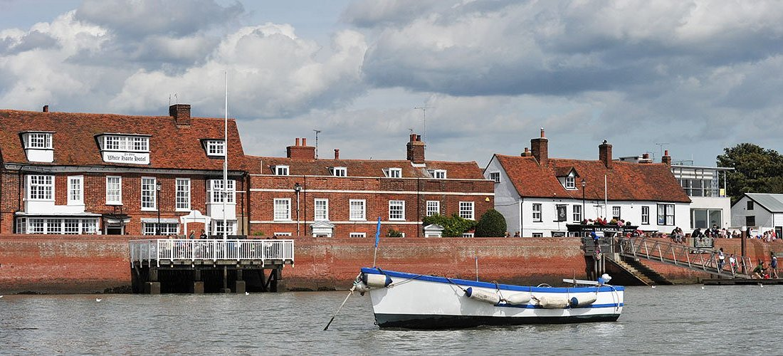 The Quay from the water