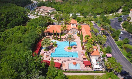 Areial View of Tuscana Resort Orlando by Aston
