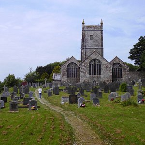 Historic Church with Holy well.